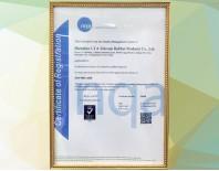 利勇安ISO9001认证证书