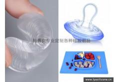 高硬度液态硅胶制品的突破