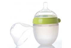 液态硅胶转注成型硅胶奶瓶,食品级硅胶,让宝宝安全安心的硅胶奶瓶选择