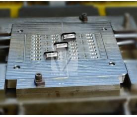 手机TYPE-C防水液态硅胶模具二