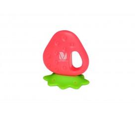 硅胶草莓牙胶
