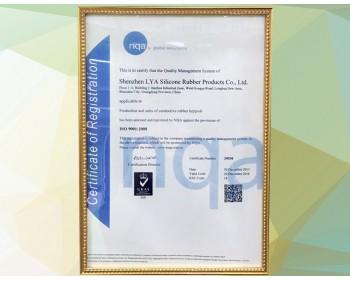 利勇安ISO9001认证