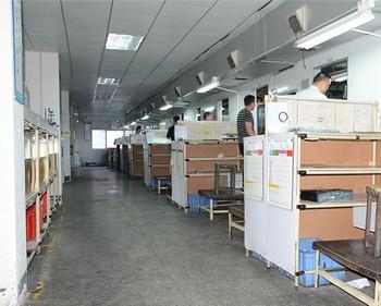 利勇安一楼硅胶制品固态模压部环境
